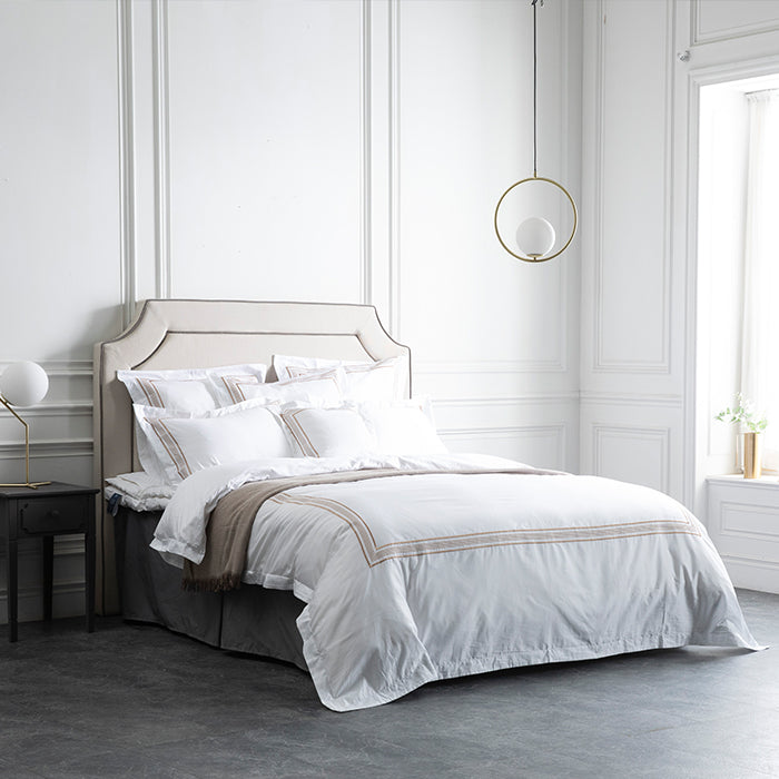 Duvet Cover Set De Rang Collection, Sienna Gold - Crown Goose