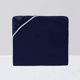 Fitted Sheet, Navy - Crown Goose
