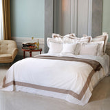 Duvet Cover Set Jardin Collection, Beige - Crown Goose