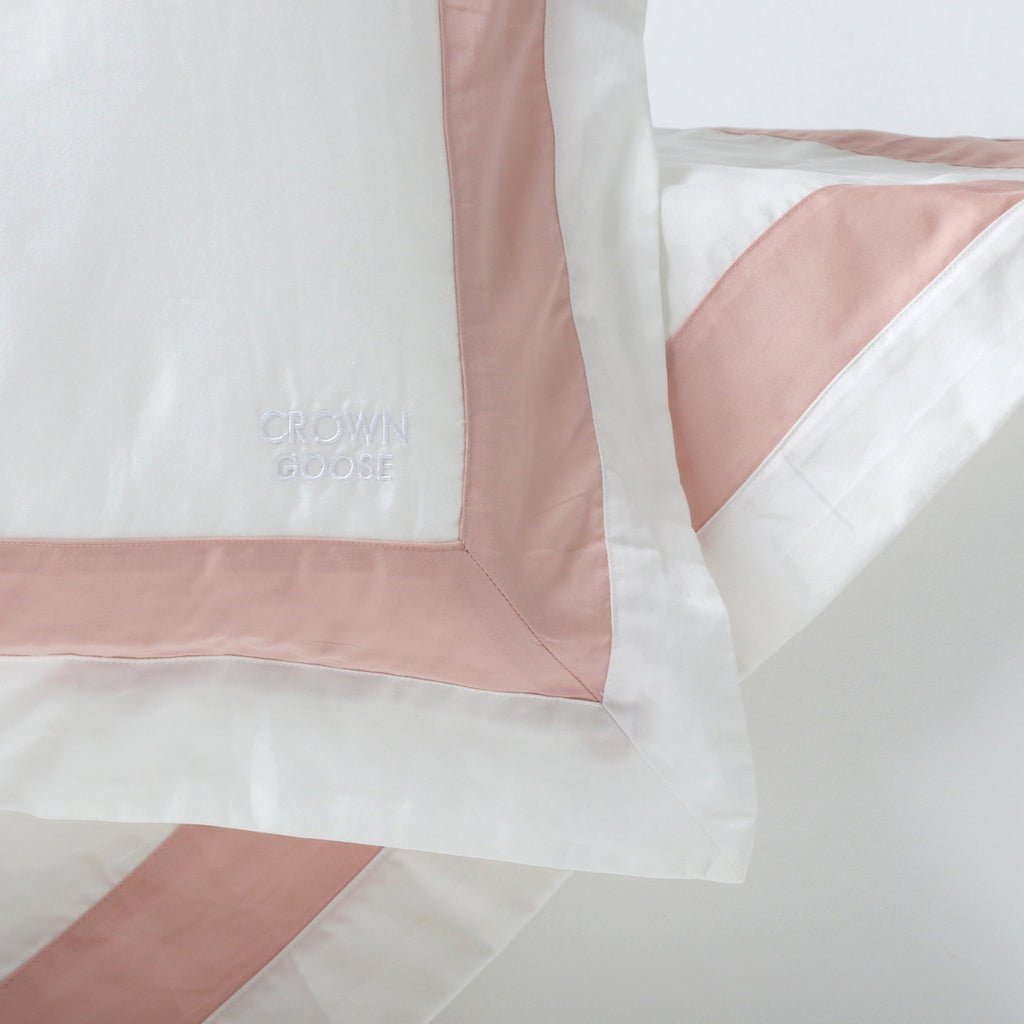 Duvet Cover Set Jardinne Collection, Indi Pink - Crown Goose