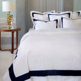 Duvet Cover Set Jardin Collection, Navy - Crown Goose