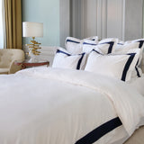 Duvet Cover Set Jardinne Collection, Navy - Crown Goose