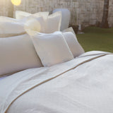 Duvet Cover Set Losange Collection, Ivory - Crown Goose
