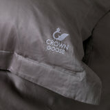 Duvet Cover Set Sopor Collection, Gray - Crown Goose