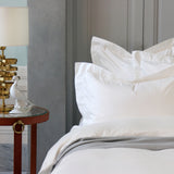Duvet Cover Set Sopor Collection, Ivory White - Crown Goose