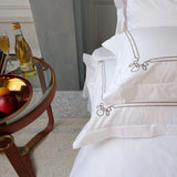 Duvet Cover Set Verni Collection, Bronze - Crown Goose