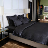 Duvet Cover Set Sopor Collection, Charcoal