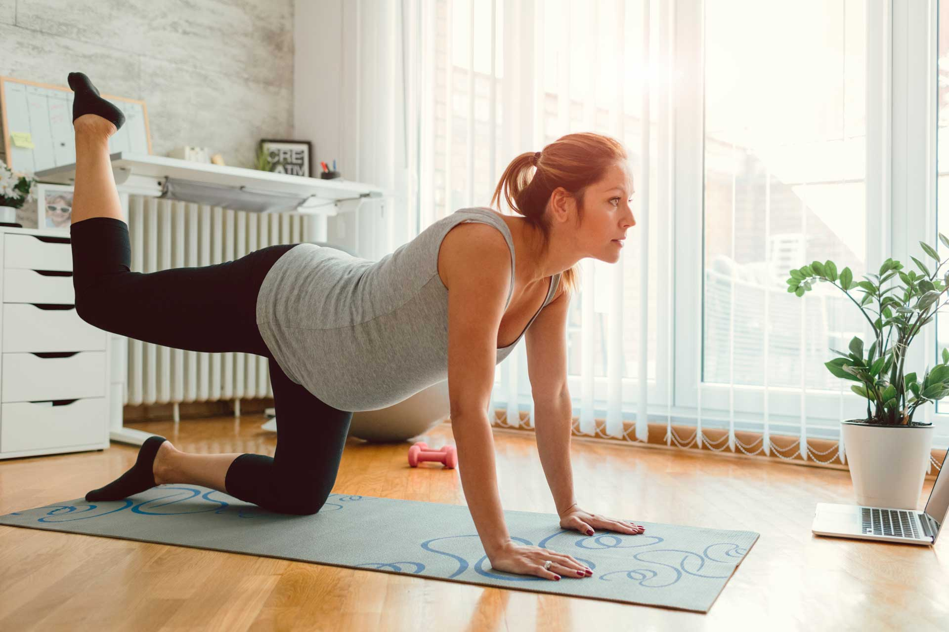 Avoid Traditional Crunches During Pregnancy