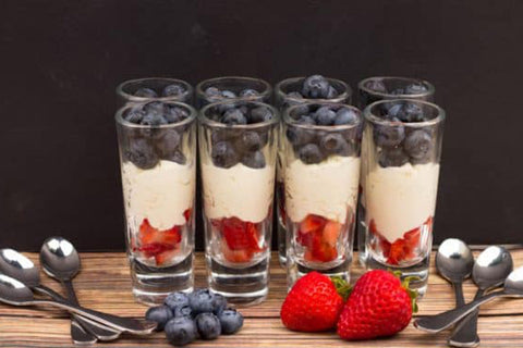 Mascarpone Cheese Mousse Berries