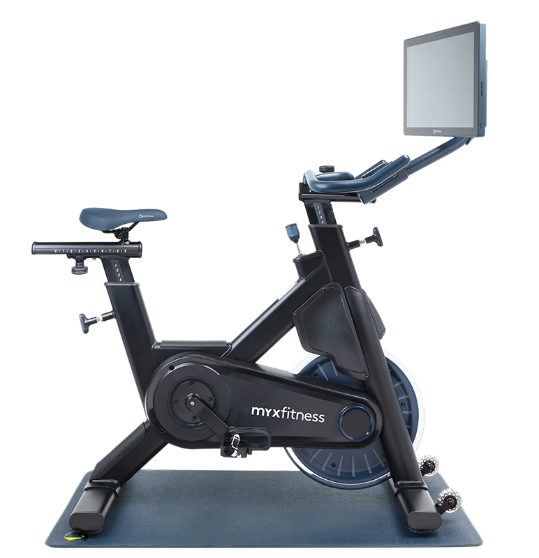 Stationary indoor exercise bike
