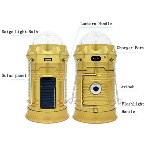 Voted #1 Emergency Solar Camping Lantern - Rescue Beam