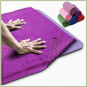 Yoga Mat Cover Non Slip Design - Rescue Beam
