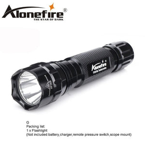 Special Ops Military Tactical Flashlight - Rescue Beam