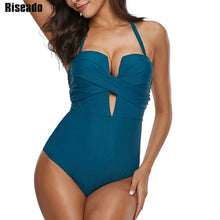 One Piece Swimsuit Women's Push Up Swimwear - Rescue Beam