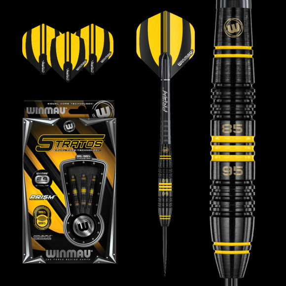 Winmau Stratos Dual Core Steel Tip 95/85% Tungsten Darts - 26g
