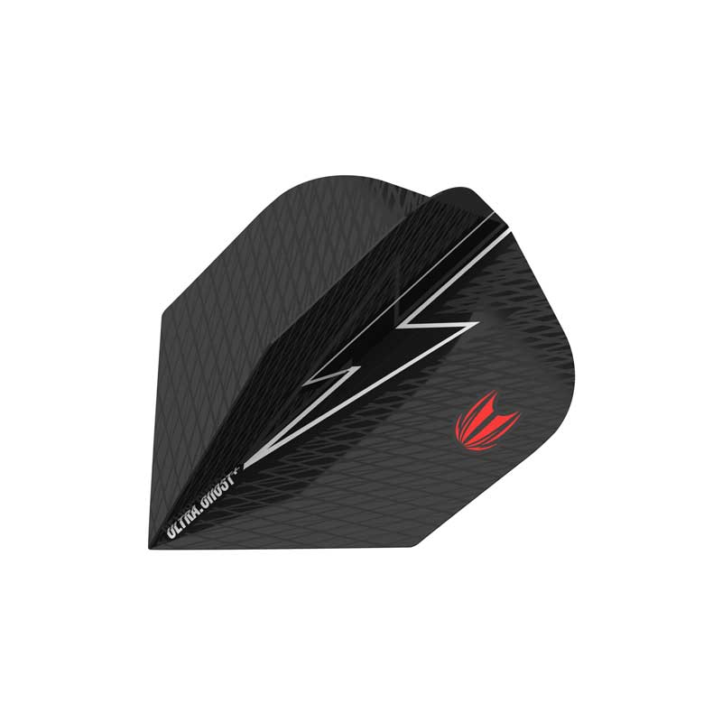 Target Power Ultra Ghost Red G5 Flights - Ten X Shape