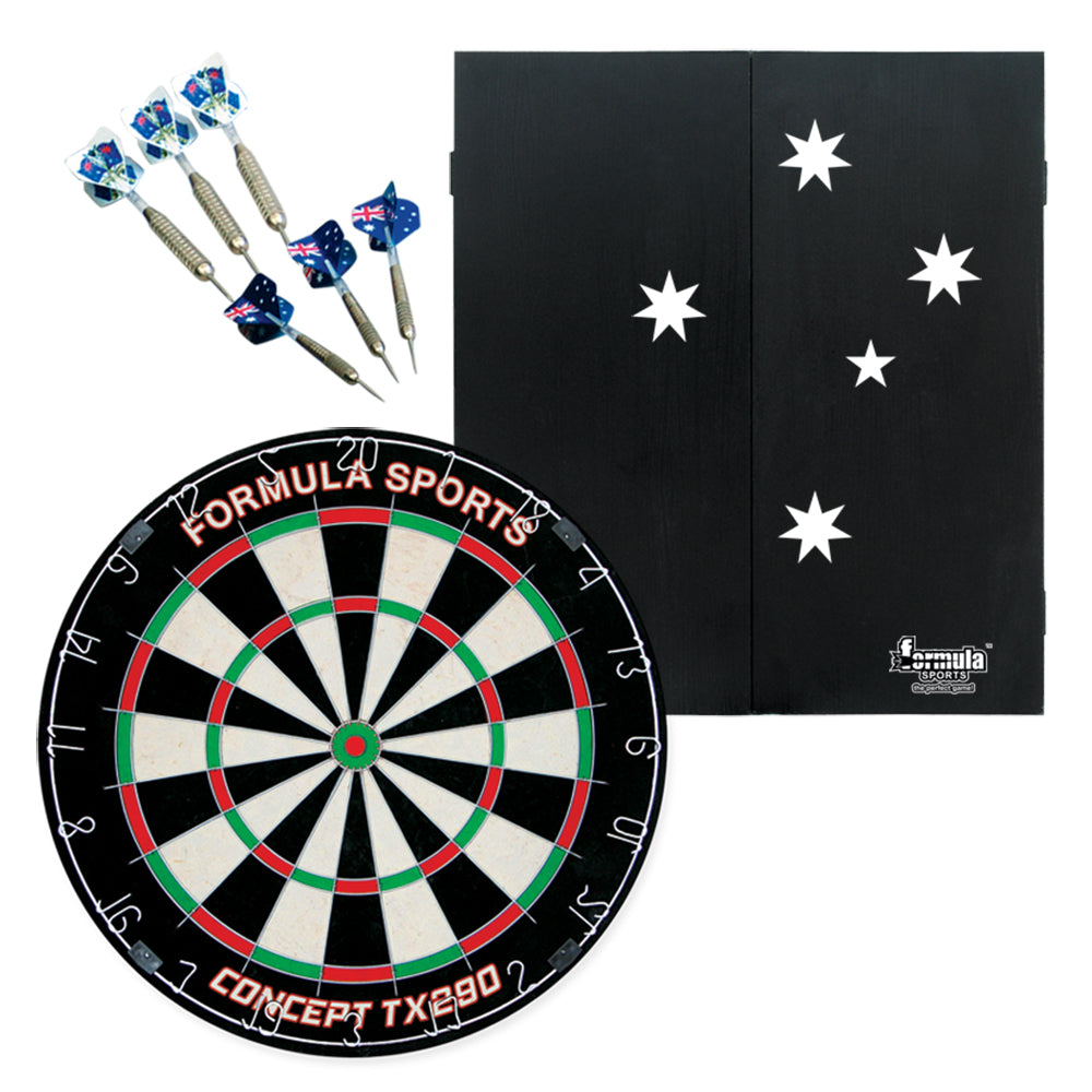 Southern Cross Cabinet, Dartboard and Darts Set