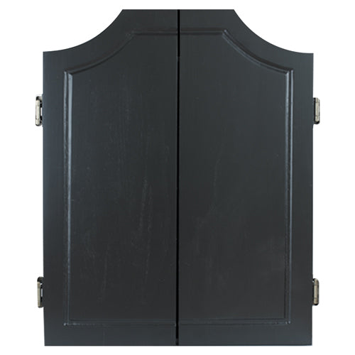 Formula Solid Wood Darts Cabinet, Black Colour With Felt Backing