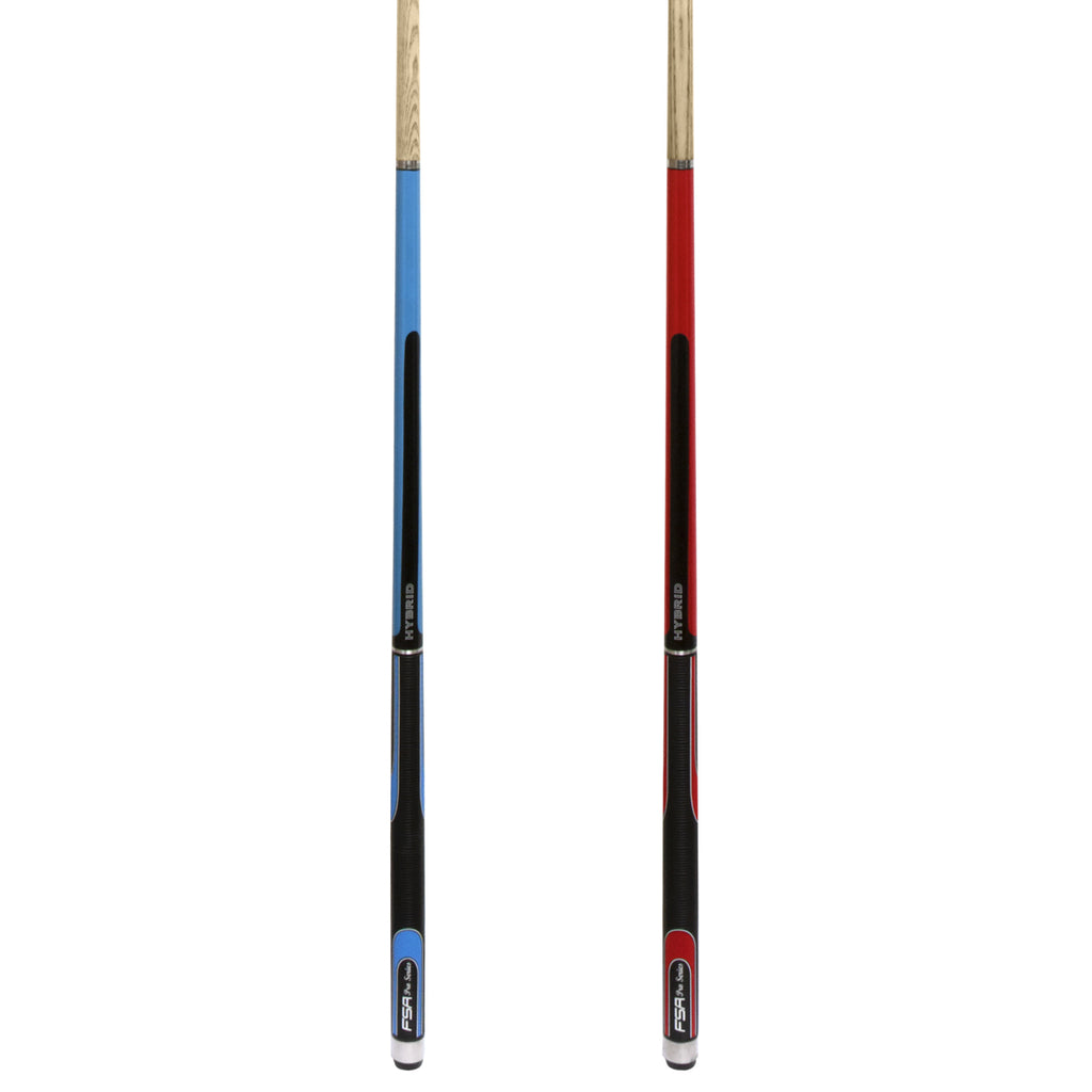 Soft Grip Hybrid Cue - Two Piece Ash