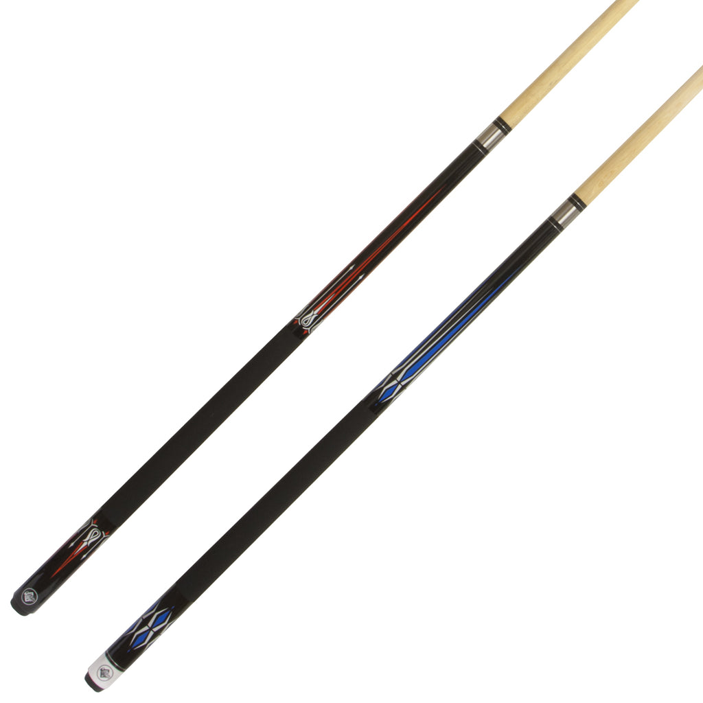 Two Piece Maple 9 Ball Cues