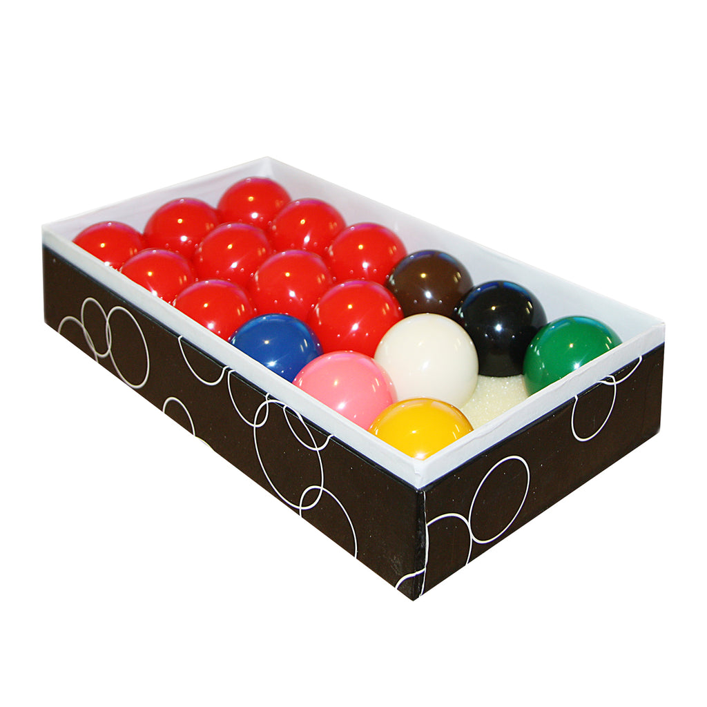 Formula Standard Resin Snooker Balls Boxed 1 7/8""
