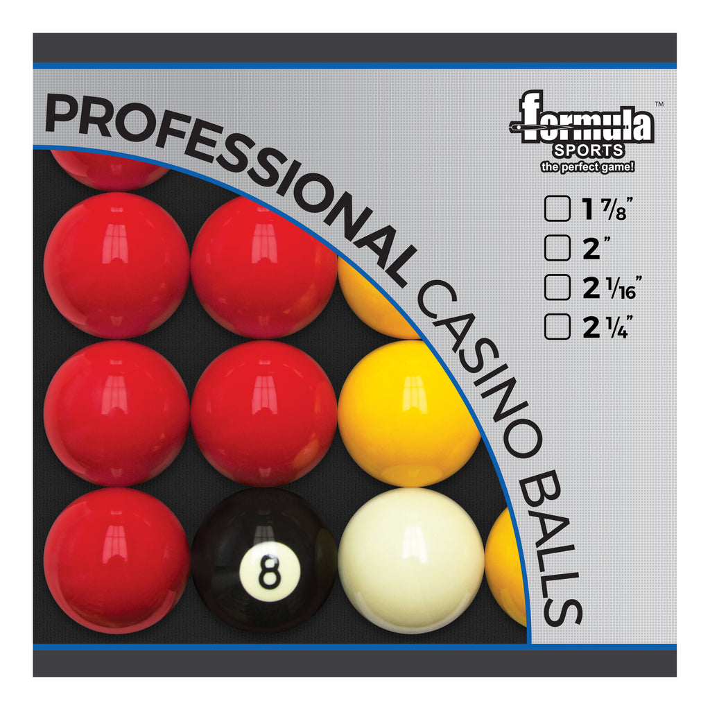 FORMULA Professional Casino Ball Set