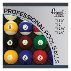 "FORMULA Professional Pool Balls - 2"" set"