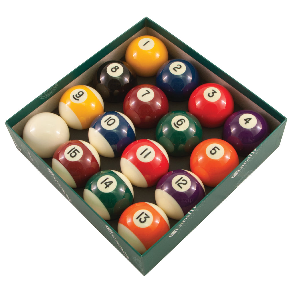 Aramith Premier Kelly Pool Balls 2""