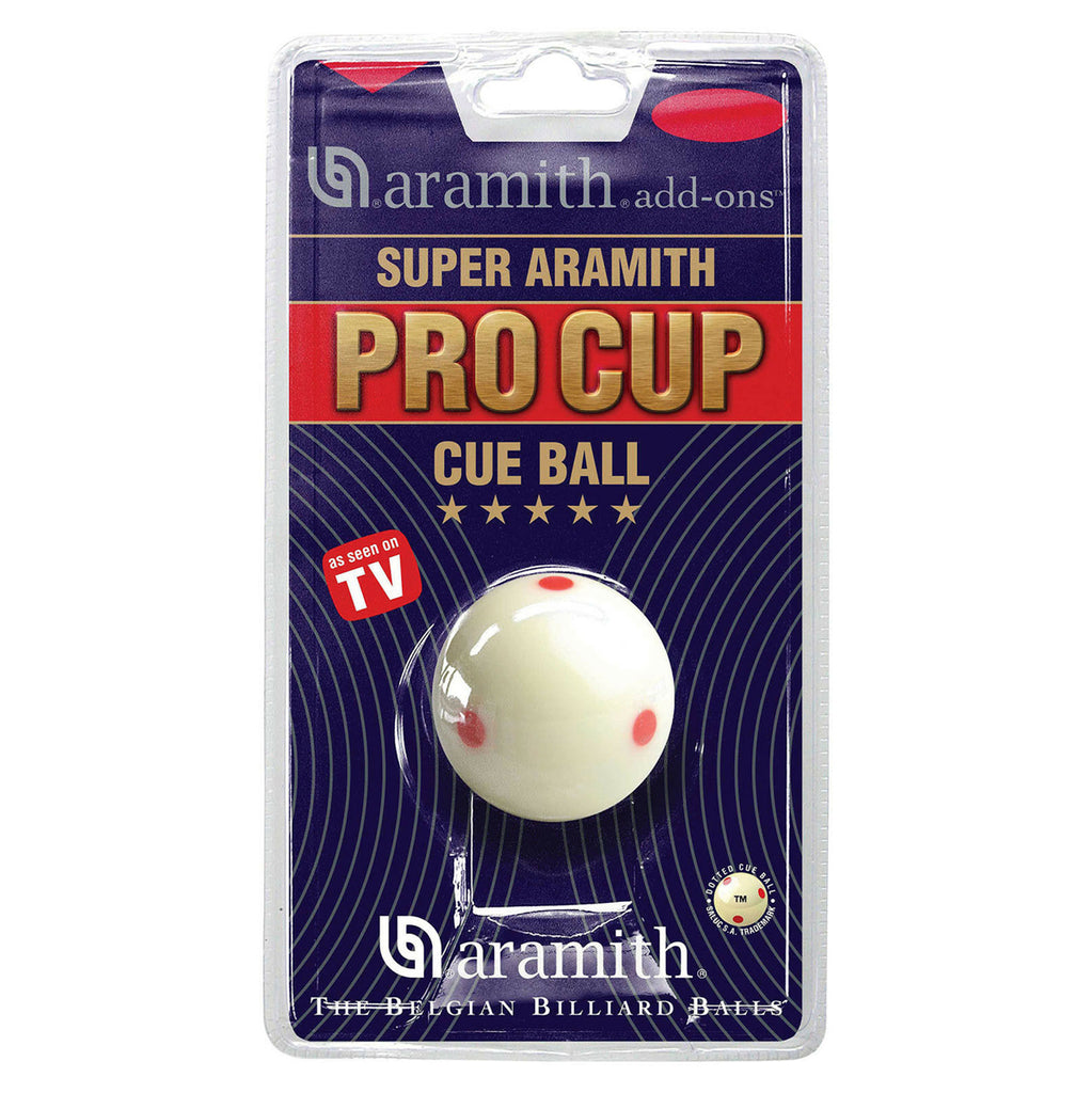 Super Pro Cue Ball Blister Pack  7/8""