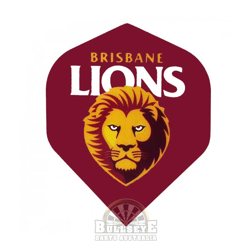 Brisbane Lions AFL Dart Flights