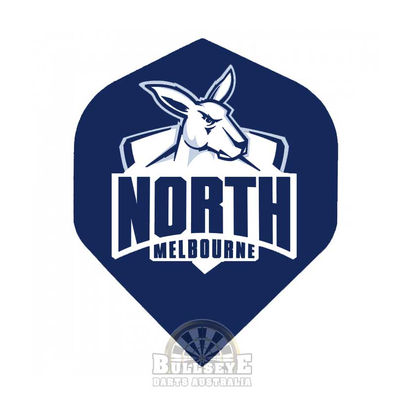 North Melbourne Kangaroos AFL Dart Flights
