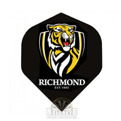 Richmond Tigers AFL Dart Flights