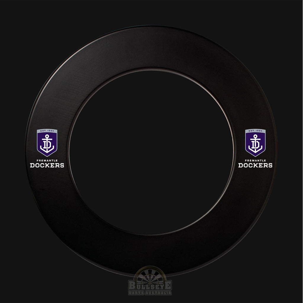 AFL Licensed Freemantle Dockers Dartboard Surround