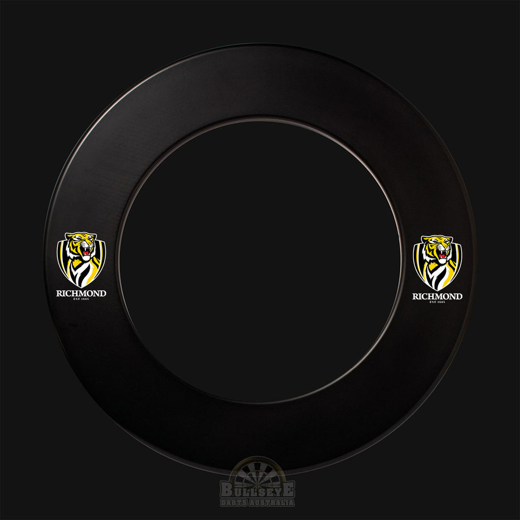 AFL Licensed Richmond Tigers Dartboard Surround