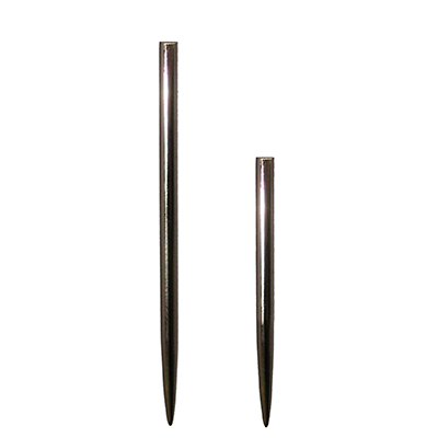 Silver Steel Replacement Dart Points 32, 38, 44mm