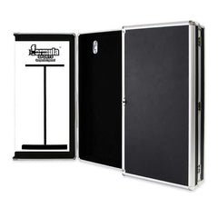 Formula Aluminium Dartboard Cabinet with Whiteboards