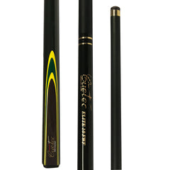 Cuetec ELITE FWF Composite Fibreglass Two Piece Cue - Black & Green