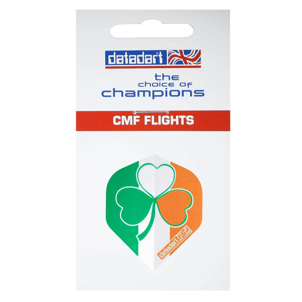 Datadart CMF-13 Irish Shamrock Standard Shape Flights - 100 Micron