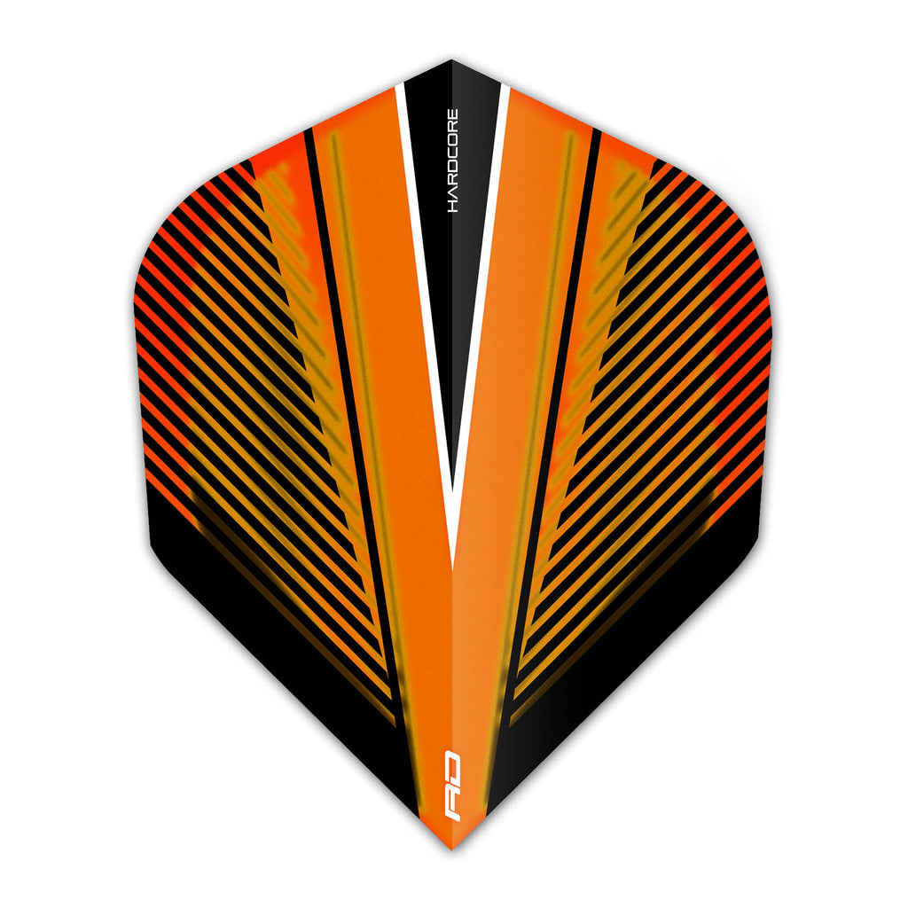 Red Dragon V Hardcore Radical Flights - Orange Tint
