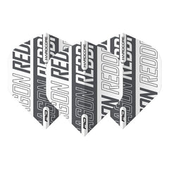 RED DRAGON Hardcore XT Flights - White and Grey