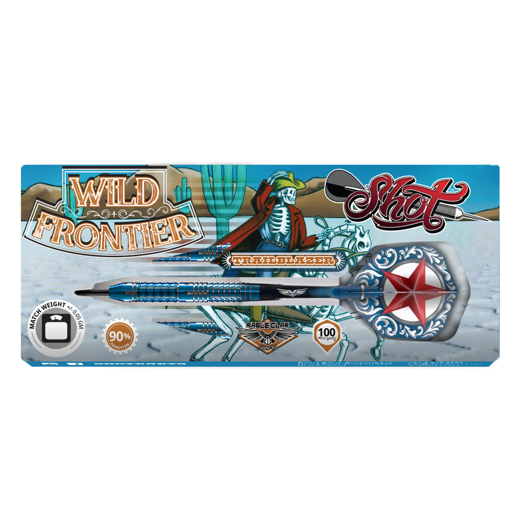SHOT Wild Frontier Trailblazer Darts - 90% Tungsten - 25g