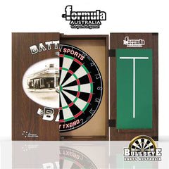 Battlers Bar Cabinet, Dartboard and Darts Set