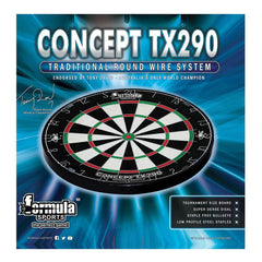 Formula Sports TX290 Round Wire Bristle Dartboard