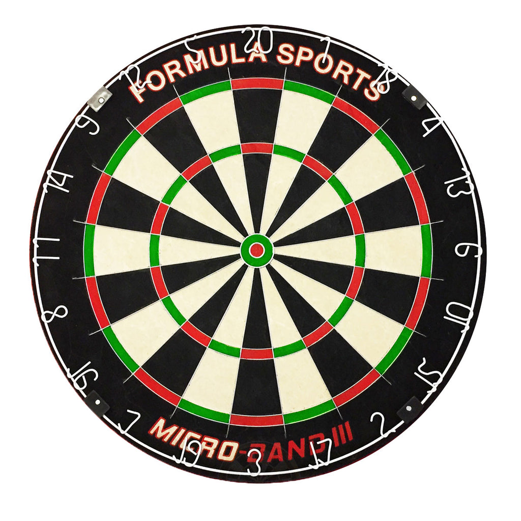 Formula Micro Band 3 Professional Dartboard - New Bladed Design