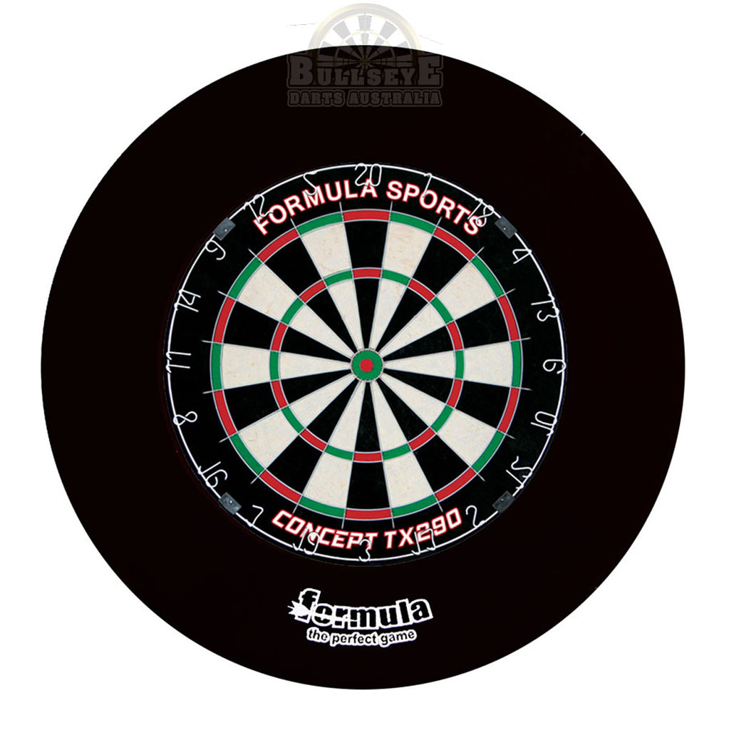 Formula Journeyman Set Inc. Dartboard, Surround & 2 Sets of 80% Tungsten Darts