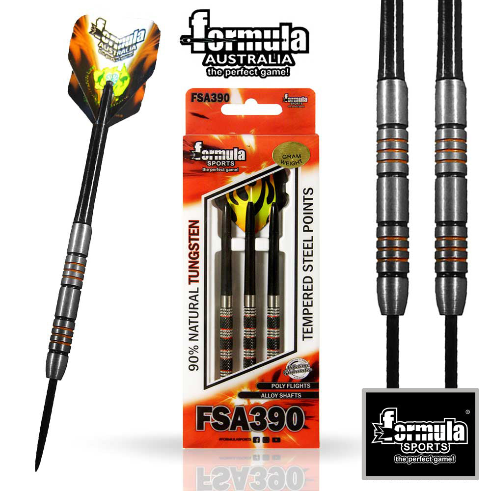 Formula FSA 390 Competition Darts, 90% Tungsten 19g
