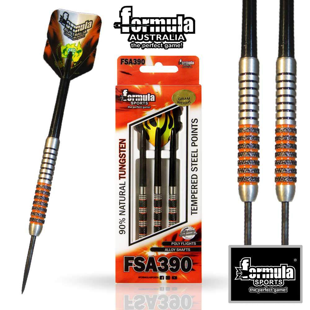 Formula FSA 390 Competition Darts, 90% Tungsten 22g