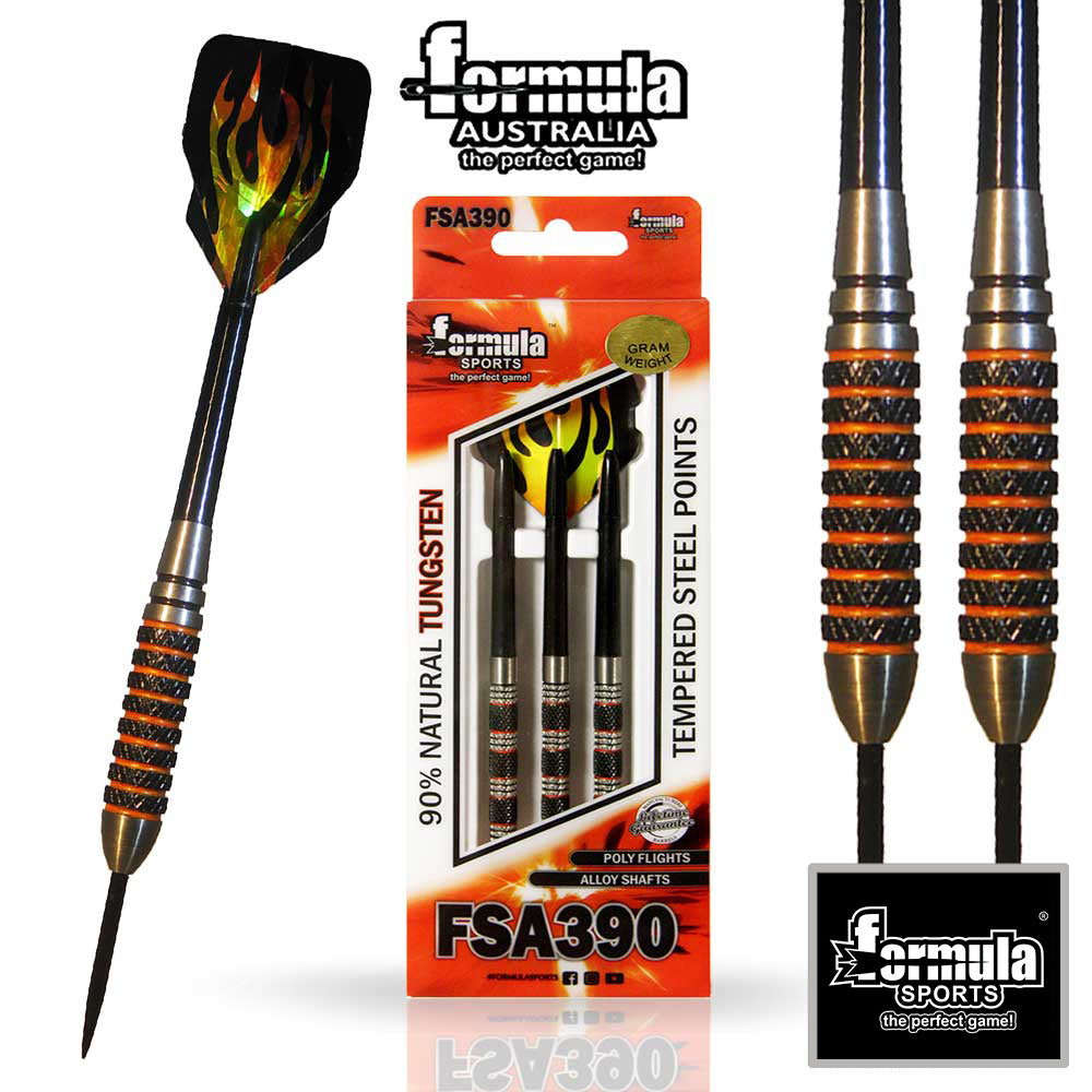 Formula FSA 390 Competition Darts, 90% Tungsten 38g