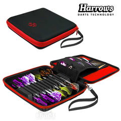 Harrows Blaze Pro 12 Dart Case - Red