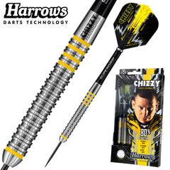 HARROWS Dave Chisnall Chizzy Darts - 80% Tungsten - 22g